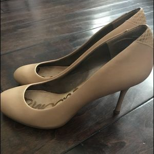 Shoes - Sam Edelman Nude Heels